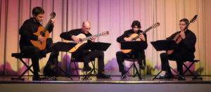 The North Carolina Guitar Quartet @ Meredith College Carswell Concert Hall