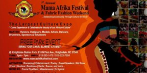 7th Annual Mama Afrika Festival @ Knightdale Station Park