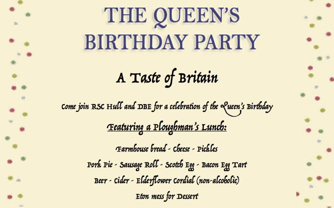A Taste of Britain: The Queen's Birthday Party