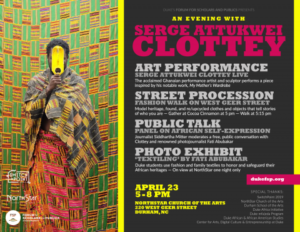 An Evening with Serge Attukwei Clottey @ NorthStar Church of the Arts