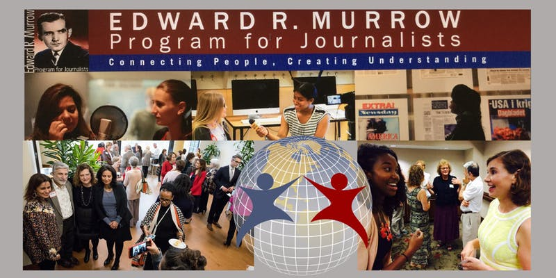 Citizen Diplomacy with Edward R. Murrow Journalists