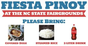 Fiesta Pinoy at the NC State Fairgrounds @ Holshouser Building at the NC State Fairgrounds