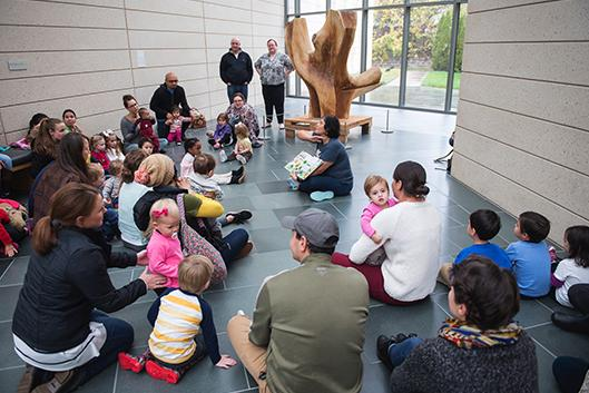 Bilingual Storytime at the Nasher Museum of Art
