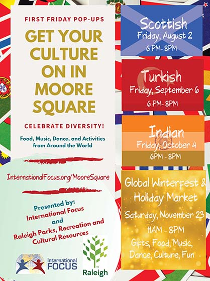 Indian Pop-Up Culture in Moore Square