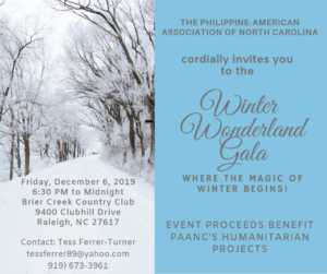 Winter Wonderland Gala @ Brier Creek Country Club