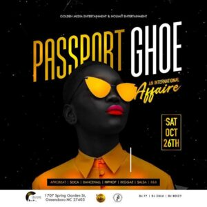 Passport GHOE (Afro Caribbean International Affair) @ Culture Lounge