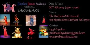 Parampara 2019 @ Durham Arts Council
