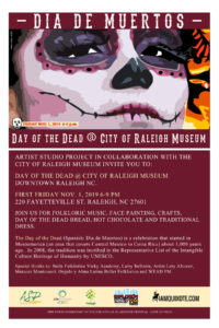 Day of the Dead Celebration @ City of Raleigh Museum