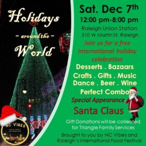 Holidays Around the World @ Raleigh Union Station
